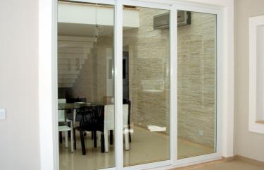 Porta Balcão Alumínio Suprema Branco Vidro Incolor